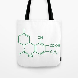 Cannabis Chemistry: CBD Tote Bag
