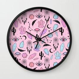 Desert Crystals Theme Wall Clock