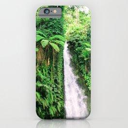 Lombok, Indonesia: Waterfall iPhone Case