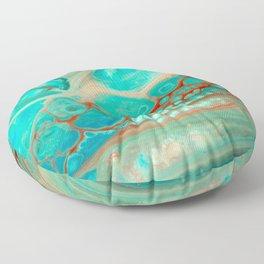 Aqua Floor Pillow