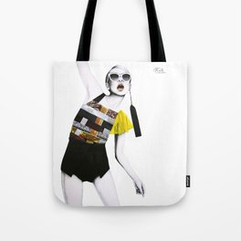 Moda Collage #8 Tote Bag