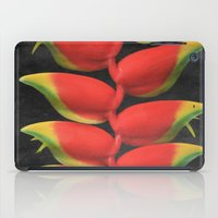 musa iPad Cases featuring Heleconia rostrata by Sharon Mau