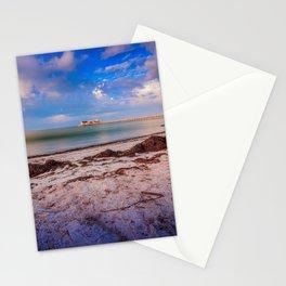 City Pier on Anna Maria Island Stationery Cards
