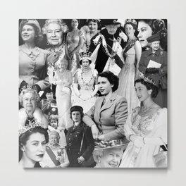 Queen Elizabeth Metal Print