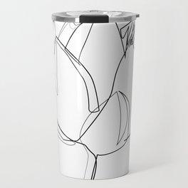 """""""Botanical Collection"""" - Lotus Flower Travel Mug"""