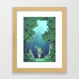 Master Sword and Monsters Framed Art Print