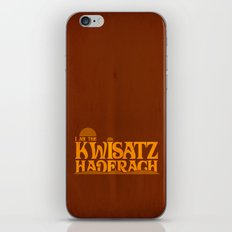 Kwisatz Haderach iPhone & iPod Skin