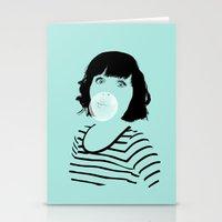bubblegum Stationery Cards featuring Bubblegum by FalcaoLucas