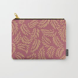 Red and Gold Leaves Carry-All Pouch