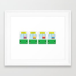 "MBTA Boston ""T"" green line art illustration  Framed Art Print"