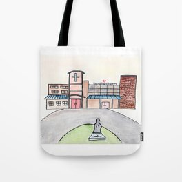 SHA Watercolor, Sacred Heart Academy, Louisville, KY Tote Bag