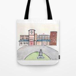 SHA Watercolor, Sacred Heart Academy, Louisville, KY Tote Bag