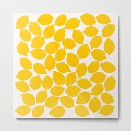 lemons 1 Metal Print