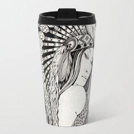 A dream of feathers Travel Mug