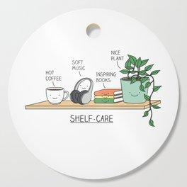 Weekend self-care Cutting Board