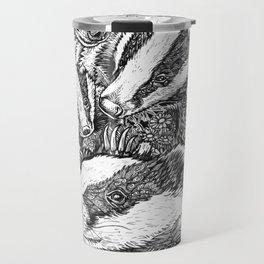 Life in  black and white Travel Mug