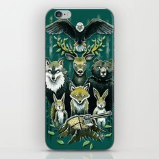 FoRest In Peace iPhone Skin