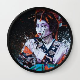 Oiran Wall Clock