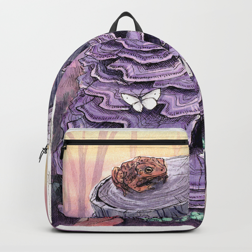 Fungus & Co. Backpack by Lydiajoypalmer