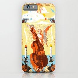MYSTIC CELLO iPhone Case