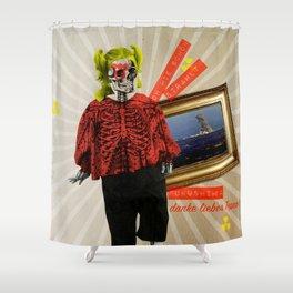 Shine on you crazy fukushima Shower Curtain