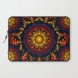 Mandala Mantra Meditation Spiritual Yoga Zen Hippie Bohemian Laptop Sleeve