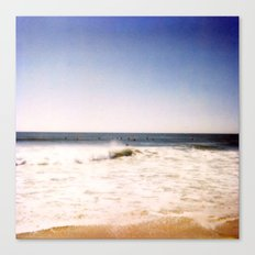 New York Summer at the Beach #2 Canvas Print