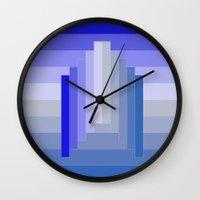 spaceship Wall Clocks featuring Spaceship by Cs025