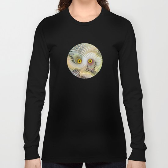 Abstract Owl Long Sleeve T-shirt