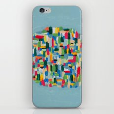 Find me here iPhone & iPod Skin