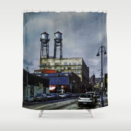 The Lookouts Shower Curtain