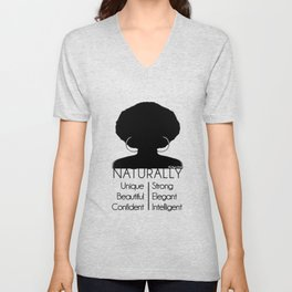 Naturally... Unisex V-Neck