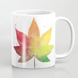 Maple Autumn Leaf Thanksgiving Nursery Coffee Mug