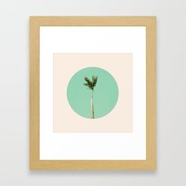 The Palm Life Framed Art Print