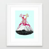blossom Framed Art Prints featuring BLOSSOM by Ceren Kilic
