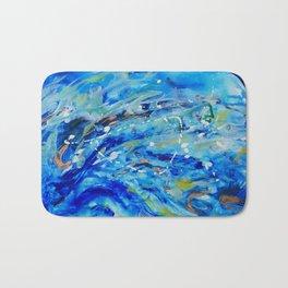 Big Waves Bath Mat