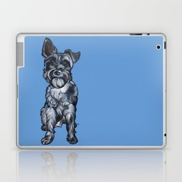 Rupert the Miniature Schnauzer Laptop & iPad Skin
