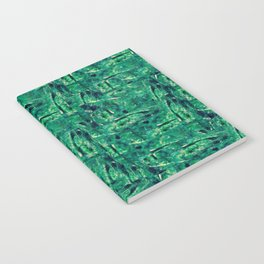Fancy Forest - Green Pattern / All Over Print Notebook