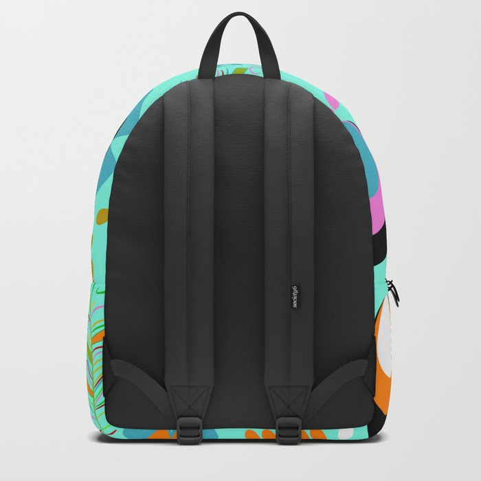 Dragonfly in the garden Backpack