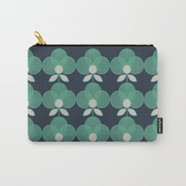 MCM Trois en Aqua Carry-All Pouch