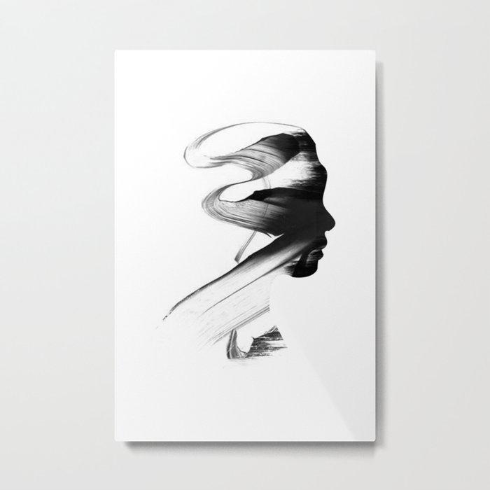 Utsukushi-sa Metal Print