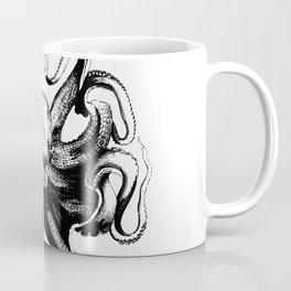 Cool Aqua animal Octopus sketch Coffee Mug