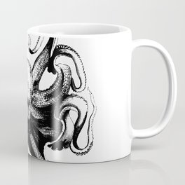 Cool Aqua animal Octopus sketch Coffee Mug