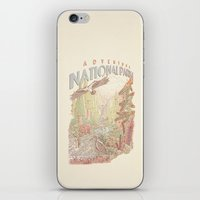 parks iPhone & iPod Skins featuring Adventure National Parks by Taylor Rose