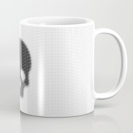 Halftone Skull Coffee Mug