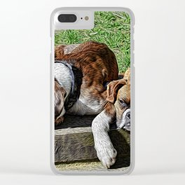 Pair of Boxers Clear iPhone Case