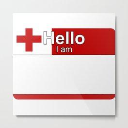 Hello I am from Tonga Metal Print