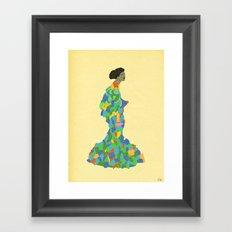 - geishaic beethoven - Framed Art Print