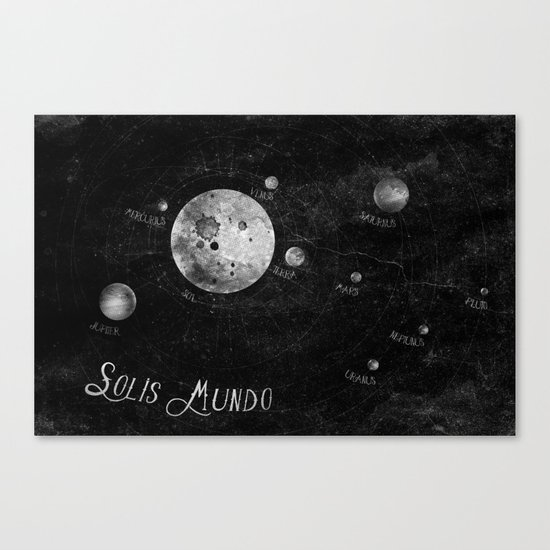 Solis Mundo I Canvas Print
