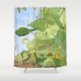 Hurry, Jack! Shower Curtain